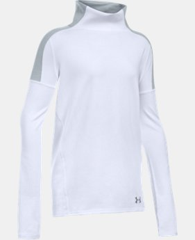 Girls' UA Cozy ColdGear® Long Sleeve LIMITED TIME: FREE SHIPPING  $49.99