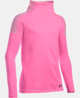 Girls' UA Cozy ColdGear® Long Sleeve LIMITED TIME: FREE SHIPPING  $44.99