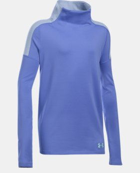 Girls' UA Cozy ColdGear® Long Sleeve LIMITED TIME OFFER + FREE U.S. SHIPPING 1 Color $33.74