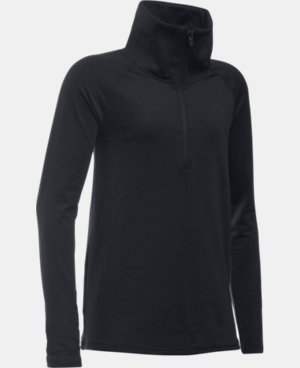 New Arrival  Girls' UA ColdGear® 1/2 Zip  1 Color $59.99