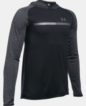 New Arrival  Boys' UA Tech™ Hoodie LIMITED TIME: FREE SHIPPING 2 Colors $39.99