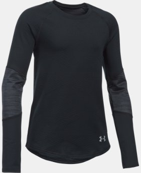 New Arrival  Girls' UA ColdGear® Infrared Exclusive Long Sleeve LIMITED TIME: FREE SHIPPING 1 Color $49.99