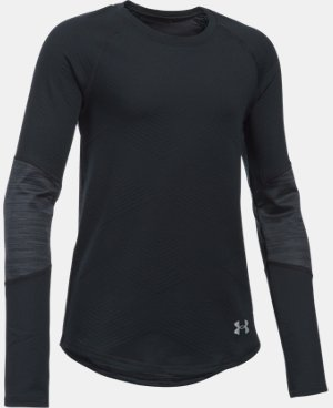 New Arrival  Girls' UA ColdGear® Infrared Exclusive Long Sleeve  1 Color $49.99