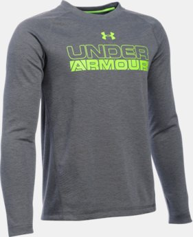 New Arrival  Boys' UA ColdGear® Infrared Long Sleeve LIMITED TIME: FREE SHIPPING 4 Colors $49.99