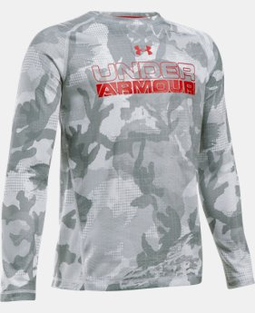 New Arrival  Boys' UA ColdGear® Infrared Long Sleeve LIMITED TIME: FREE SHIPPING 1 Color $49.99