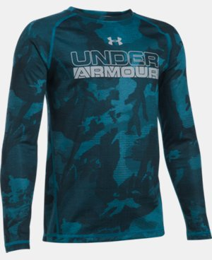 Boys' UA ColdGear® Infrared Long Sleeve LIMITED TIME: FREE U.S. SHIPPING  $33.99
