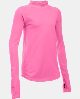 Girls' UA ColdGear® Mock LIMITED TIME: FREE SHIPPING 1 Color $39.99