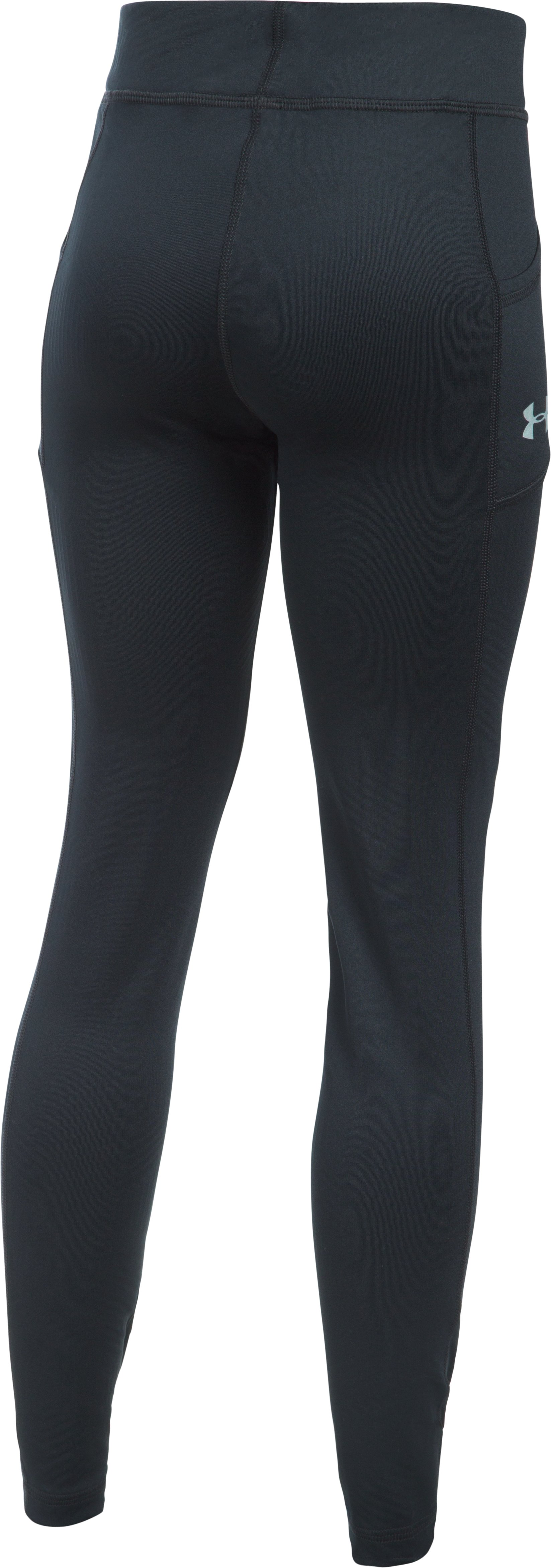 Girls' UA ColdGear® Infrared Exclusive Legging, Black ,