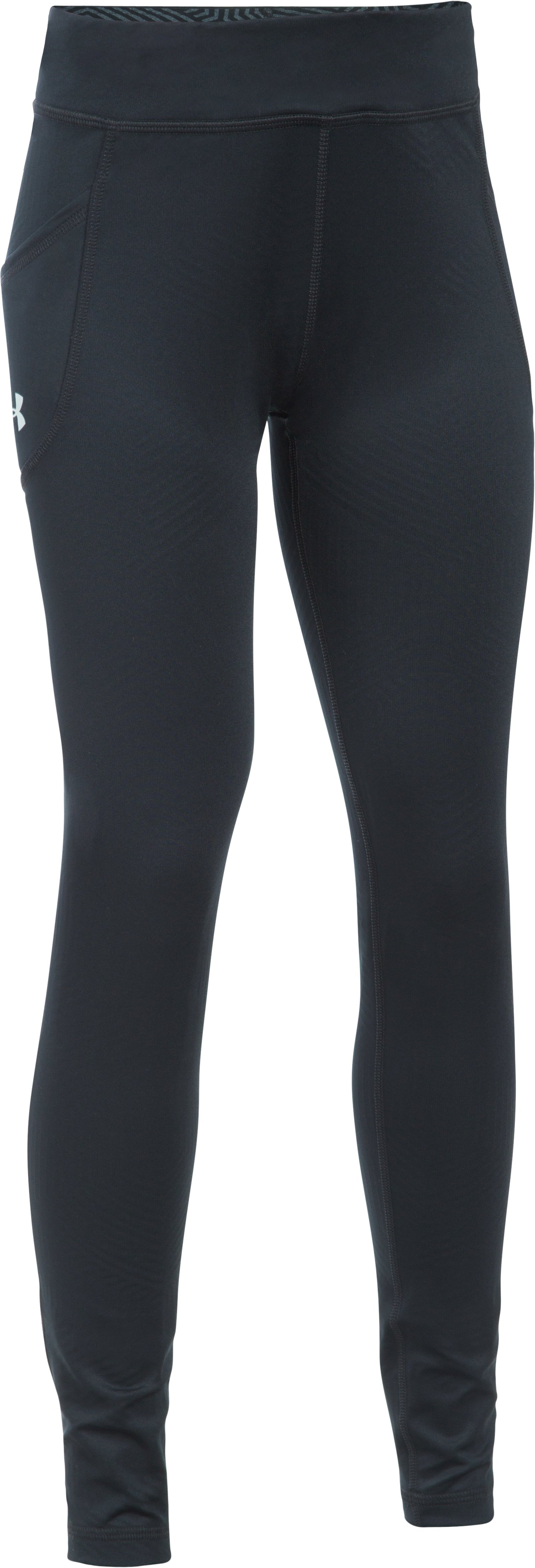 Girls' UA ColdGear® Infrared Exclusive Legging, Black