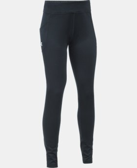 New Arrival  Girls' UA ColdGear® Infrared Exclusive Legging  1 Color $54.99