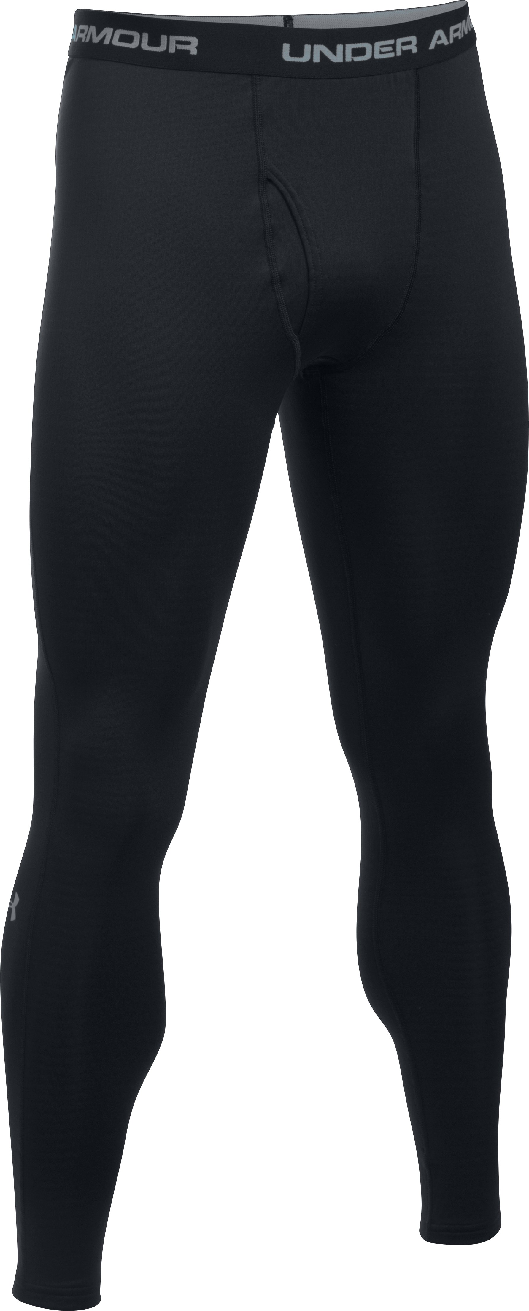 Men's UA Base™ 1.0 Leggings, Black , undefined
