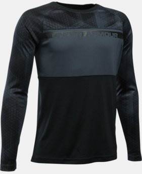 New Arrival Boys' UA Select Warm Up Long Sleeve LIMITED TIME: FREE SHIPPING  $39.99