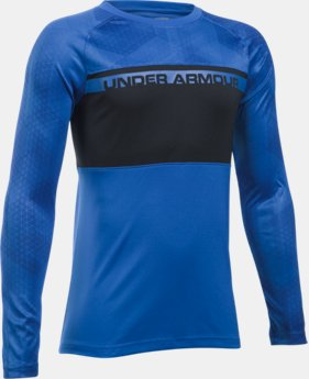 New Arrival Boys' UA Select Warm Up Long Sleeve LIMITED TIME: FREE SHIPPING 1 Color $39.99