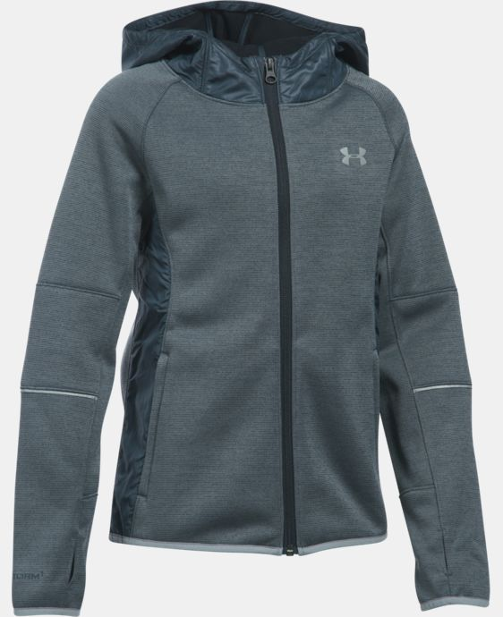 New Arrival  Girls' UA Swacket LIMITED TIME: FREE SHIPPING 3 Colors $114.99