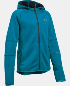 Girls' UA Swacket LIMITED TIME: 25% OFF 1 Color $74.99