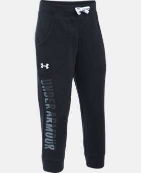 Girls' UA Favorite Fleece Capri