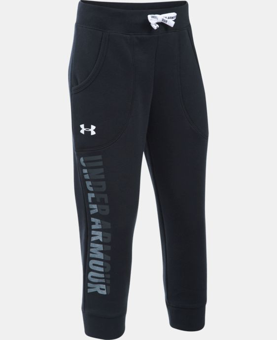 New Arrival  Girls' UA Favorite Fleece Capri   $44.99