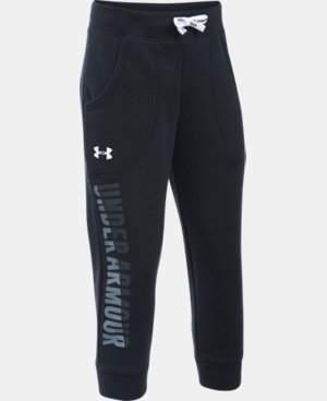 New Arrival  Girls' UA Favorite Fleece Capri  1 Color $44.99