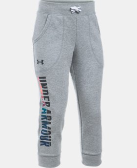 Girls' UA Favorite Fleece Capri  2 Colors $33.99