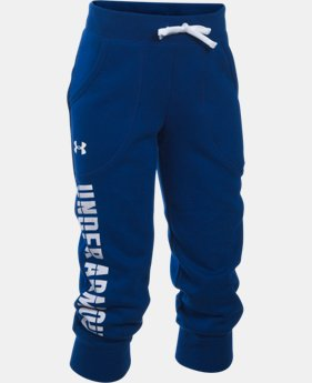 Girls' UA Favorite Fleece Capris  1 Color $29.99