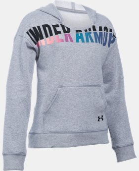 Girls' UA Favorite Fleece Hoodie  6 Colors $37.99