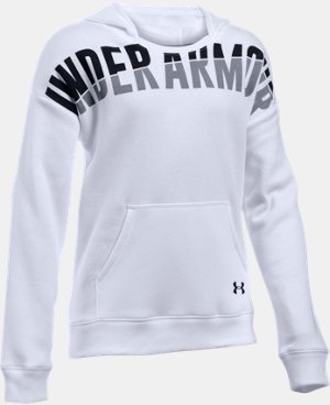 New Arrival Girls' UA Favorite Fleece Hoodie LIMITED TIME: FREE U.S. SHIPPING  $44.99