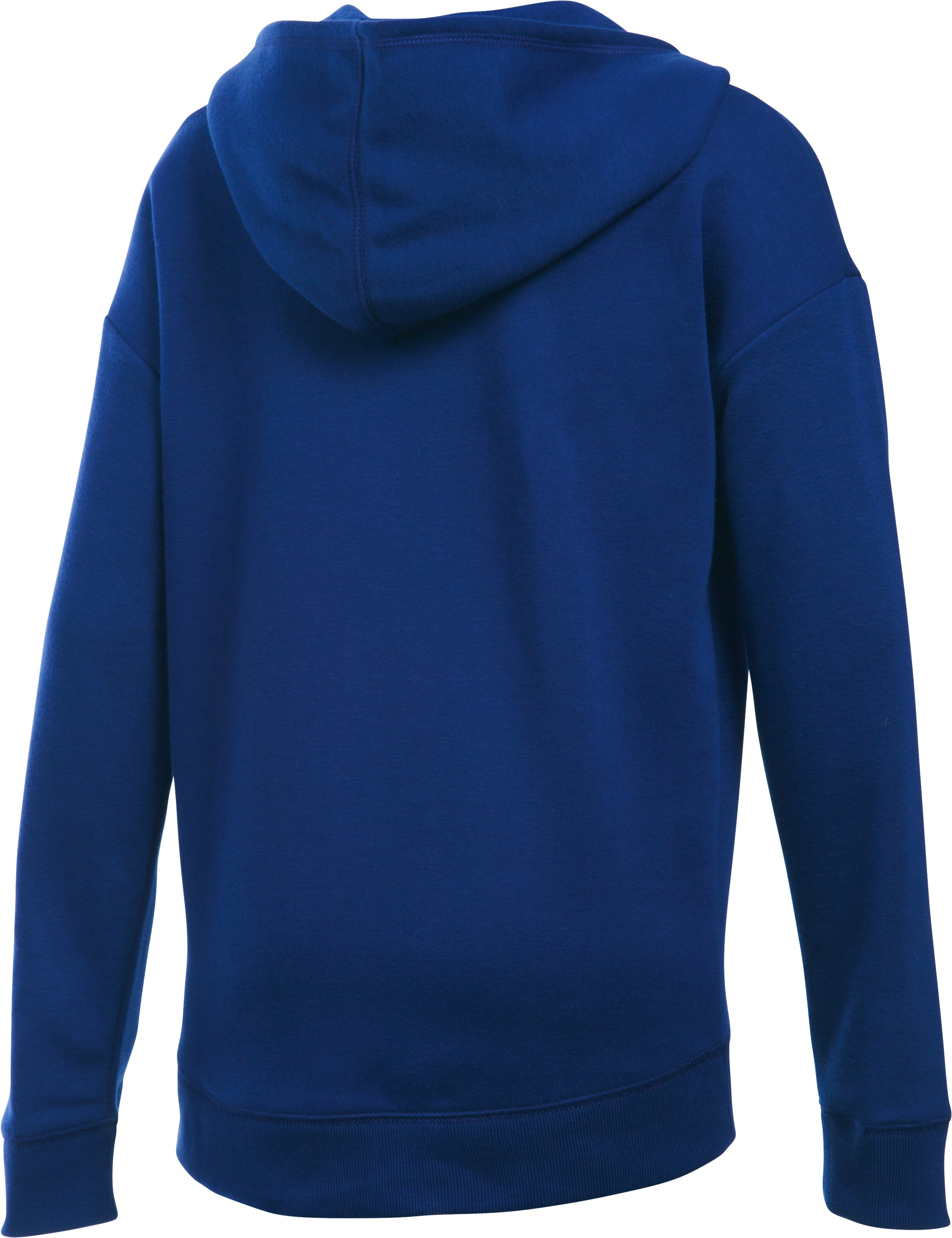 Girls' UA Favorite Fleece Hoodie, Caspian, undefined