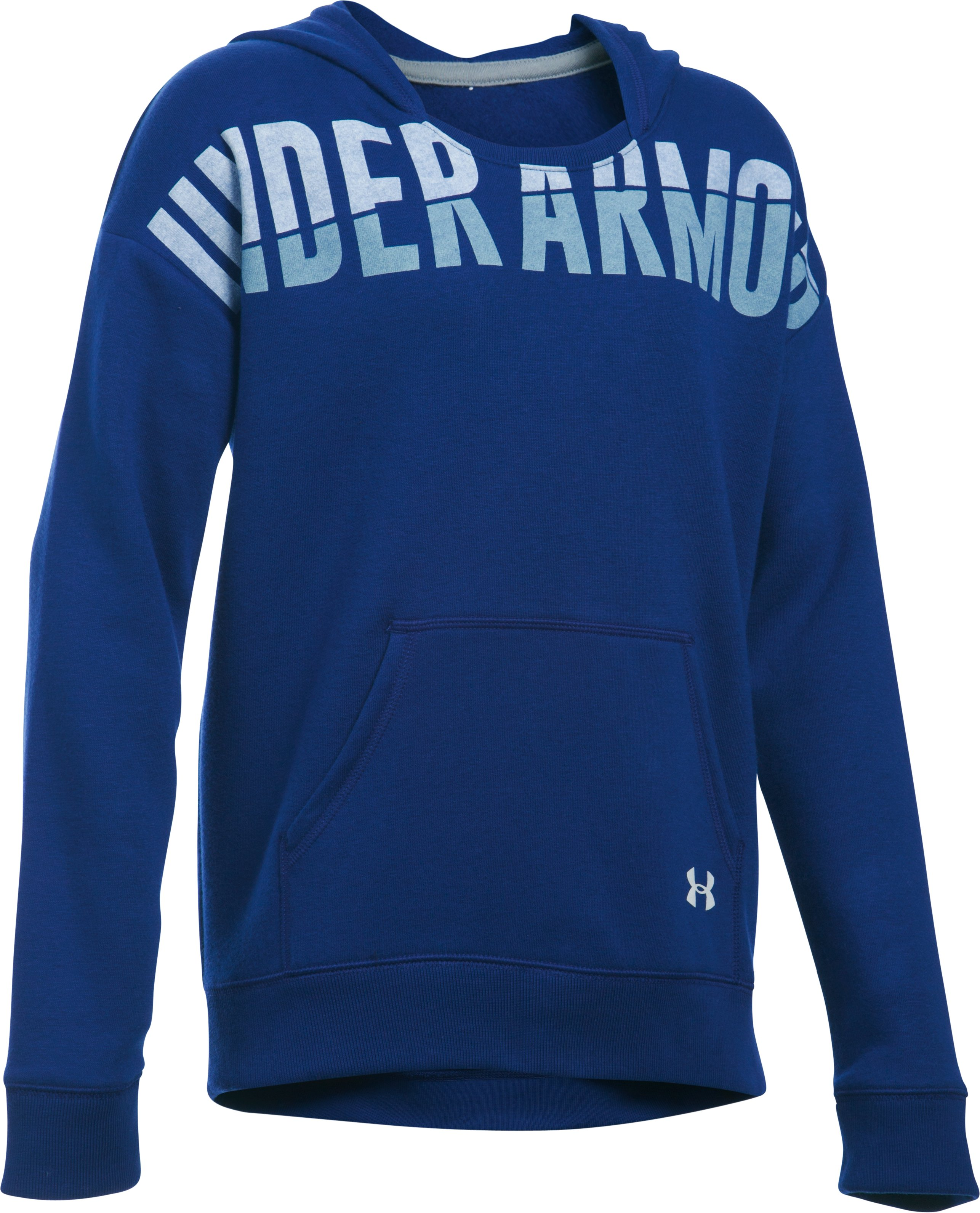 Girls' UA Favorite Fleece Hoodie, Caspian,