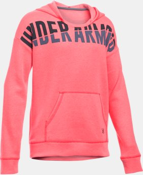 Best Seller Girls' UA Favorite Fleece Hoodie  3 Colors $44.99