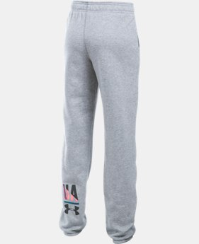New to Outlet Girls' UA Favorite Fleece Jogger LIMITED TIME OFFER 1 Color $29.99