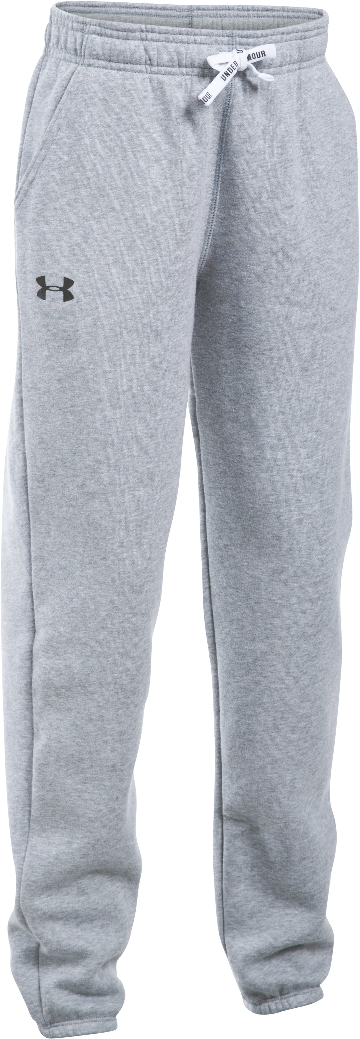 Girls' UA Favorite Fleece Jogger, True Gray Heather
