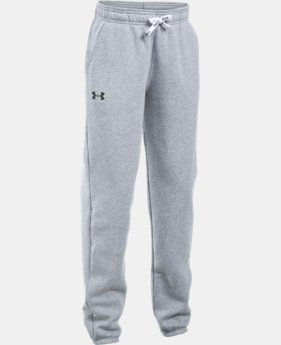 Girls' UA Favorite Fleece Jogger LIMITED TIME: FREE SHIPPING 3 Colors $49.99