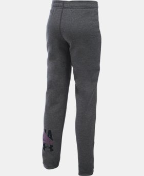New Arrival  Girls' UA Favorite Fleece Jogger LIMITED TIME: FREE SHIPPING 2 Colors $49.99
