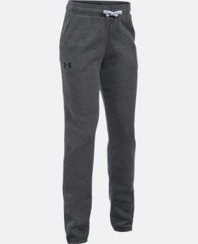 Best Seller Girls' UA Favorite Fleece Jogger  4 Colors $44.99