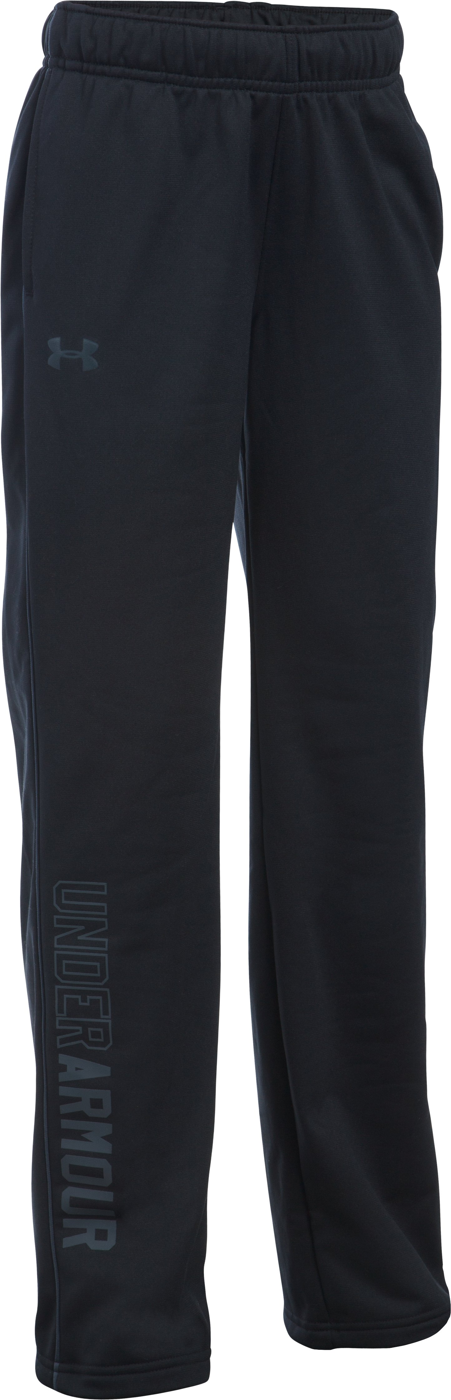 Girls' UA Rival Training Pants, Black , undefined