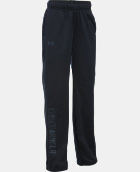 Girls' UA Rival Training Pants  1  Color Available $26.99
