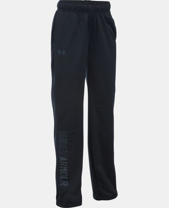 New Arrival Girls' UA Rival Training Pants  1 Color $29.99
