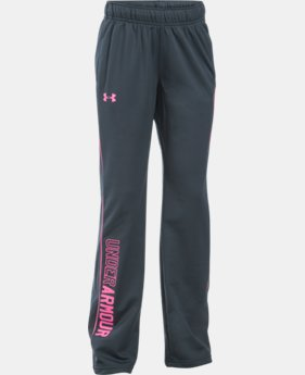 Best Seller Girls' UA Rival Training Pants  2 Colors $29.99
