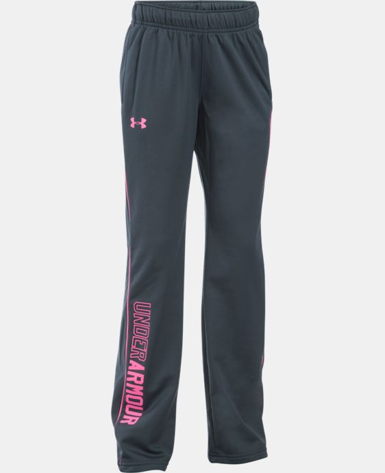 New Arrival  Girls' UA Rival Training Pants LIMITED TIME: FREE SHIPPING 1 Color $34.99