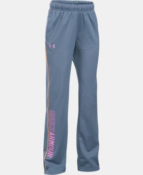 Best Seller Girls' UA Rival Training Pants  1 Color $29.99