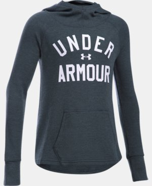 New to Outlet Girls' UA Waffle Hoodie   $29.99