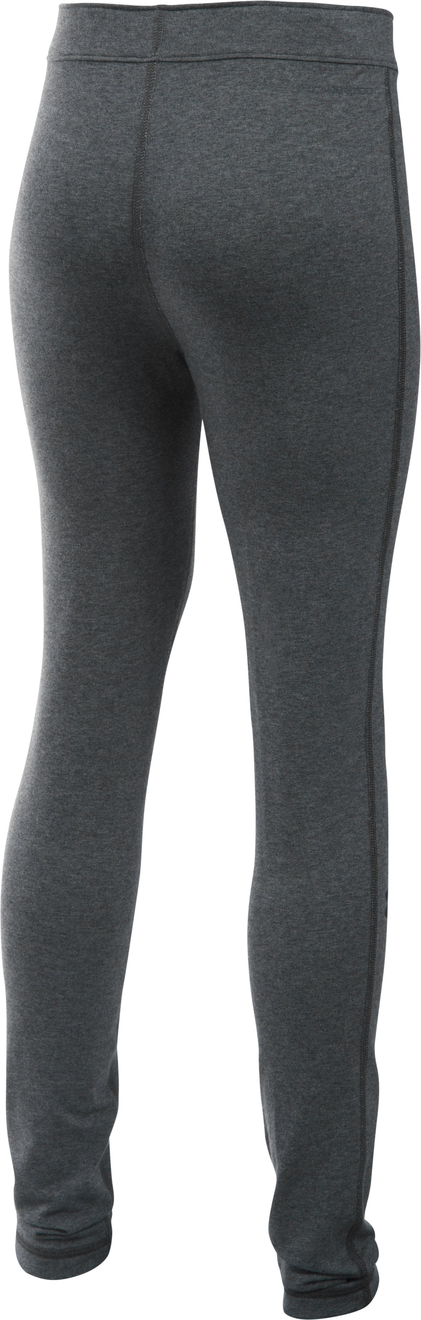 Girls' UA Favorite Campus Legging, Carbon Heather