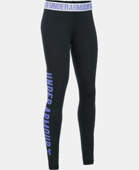 New Arrival Girls' UA Favorite Campus Novelty Legging  1 Color $44.99