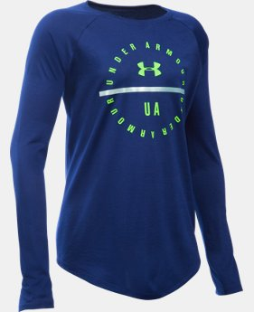 Girls' UA Circle Long Sleeve LIMITED TIME: FREE SHIPPING 2 Colors $29.99