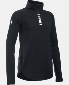 Girls' UA Tech™ 1/4 Zip LIMITED TIME: FREE SHIPPING  $34.99