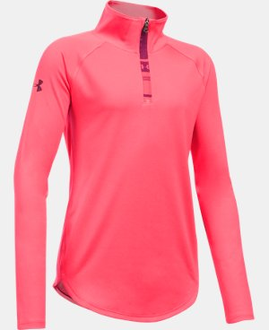 Girls' UA Tech™ 1/4 Zip LIMITED TIME: FREE U.S. SHIPPING 1 Color $26.99