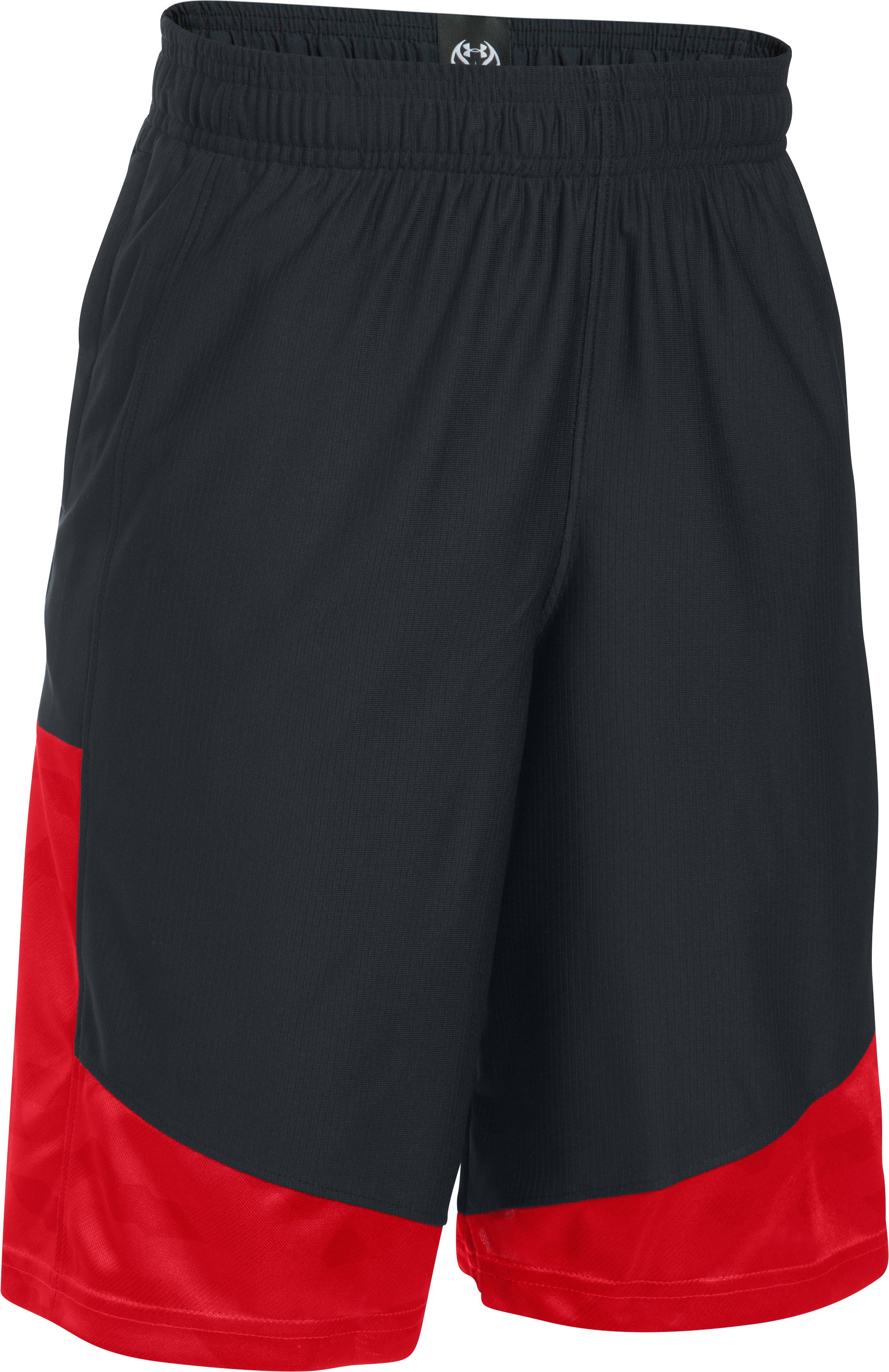 Boys' SC30 Performance Shorts, Black , undefined