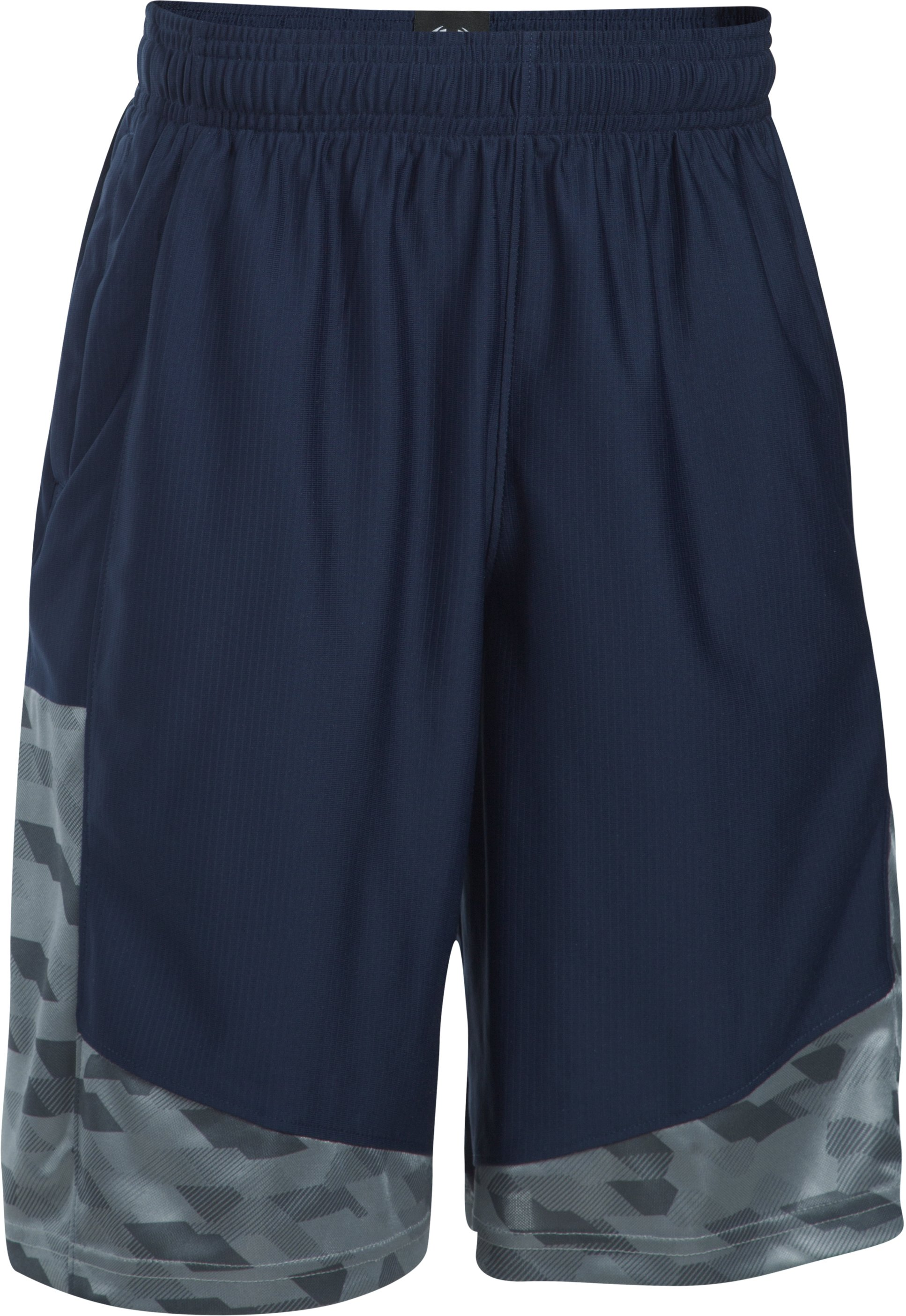 Boys' SC30 Performance Shorts, Midnight Navy, zoomed image