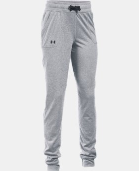 Girls' UA Graphic Texture Tech™ Joggers  1 Color $27.99