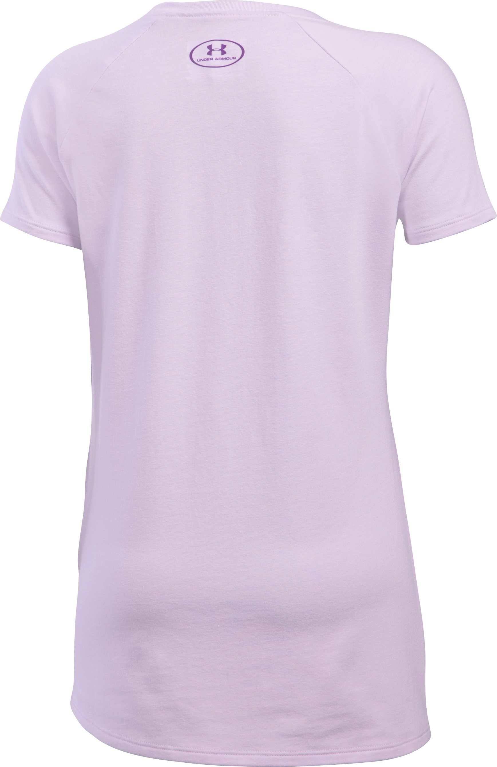 Girls' UA Too Good To Ignore T-Shirt, SMOKY GRAPE, undefined